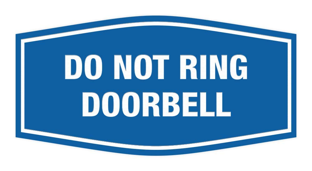 Amazon.com: Signs ByLITA Fancy Do Not Ring - Cartel para ...