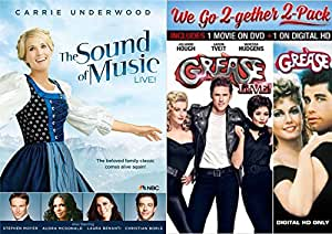 amazoncom grease live musical dvd set amp the sound of