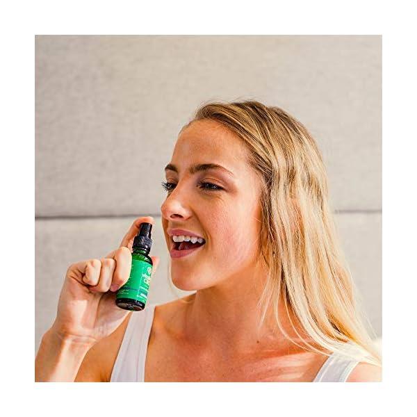 Vitality CBD Oral Spray with MCT Oil 1200mg, Lemon, 30ml