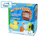 The Tech Lodge Plastic Multicage Bird Bath