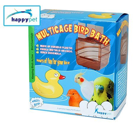 The Tech Lodge Plastic Multicage Bird Bath by THE TECH LODGE