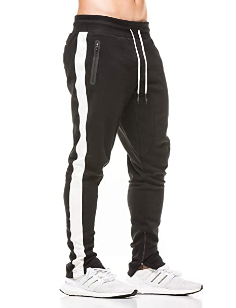 7db58b9f1337 Image Unavailable. Image not available for. Color  FLYFIREFLY Men s Gym  Sport Jogger Pants Bodybuilding Workout Running Jogger Tapered Sweatpants
