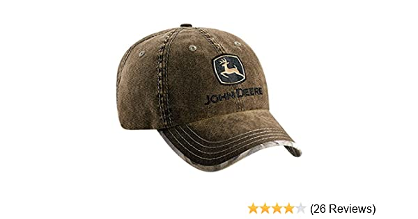 John Deere REALTREE HARDWOODS HD Marsh Cap at Amazon Mens Clothing store: