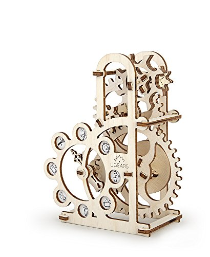 S.T.E.A.M. Line Toys UGears Mechanical Models 3-D Wooden Puzzle - Mechanical Dynamometer