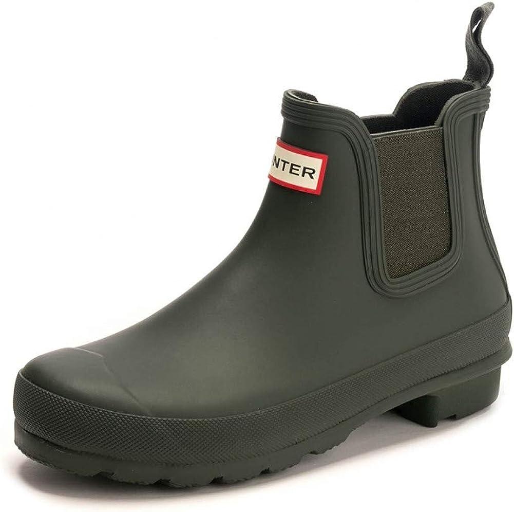 HUNTER Boot Women's Original Chelsea Rain Boot Navy