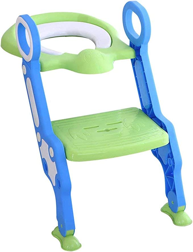 Cloudwalk Orinal Adaptador Asiento WC con Escalera Niños Reductor Bebe (Amarillo): Amazon.es: Bebé