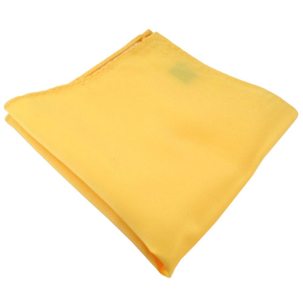 Tuch Polyester ohne Markenname sch/önes TigerTie Einstecktuch in gelb hellgelb zinkgelb einfarbig