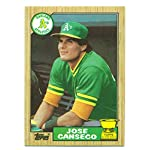 Lot of 5 1987 Topps Jose Canseco All-Star Rookie #620 - Oakland As - Baseball.