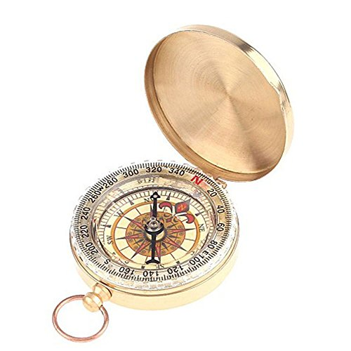 (PPbean Classic Pocket Style Camping Compass)