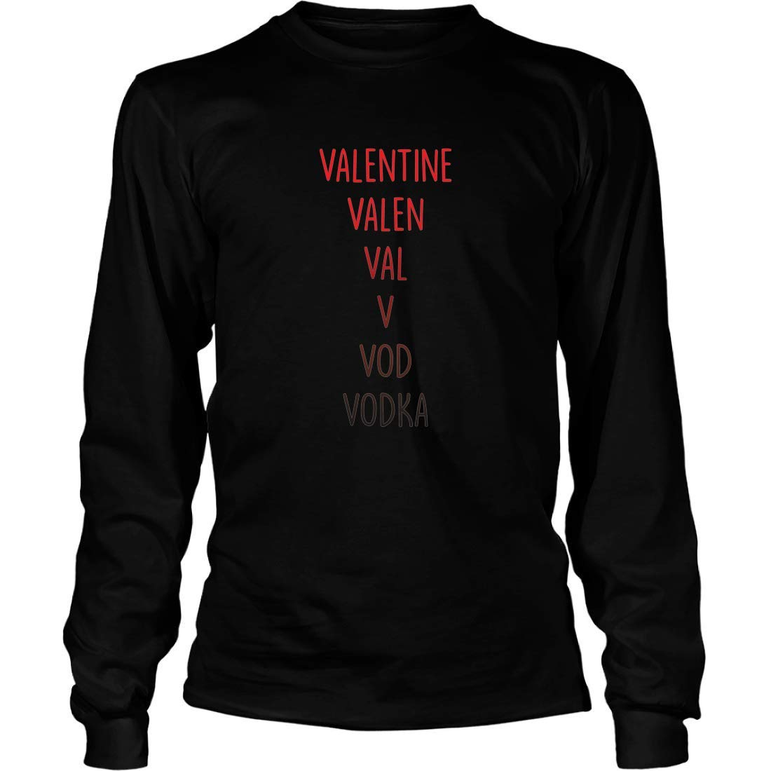 Shirts Gifts for Anti Valentines Day Mishozi Valentines Day Who Care Im Awesome Long Sleeve T-Shirt Unisex