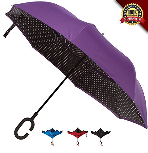 Double Layer Inverted Umbrellas Protection