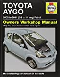 Toyota Aygo Petrol: 2005 to 2011 (Haynes Service and Repair Manuals) by Gill, Peter T. (2011) Hardcover