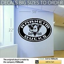 Wall Mural Vinyl Sticker Sports Logos Nhl-anaheim Mighty Duck (S508)