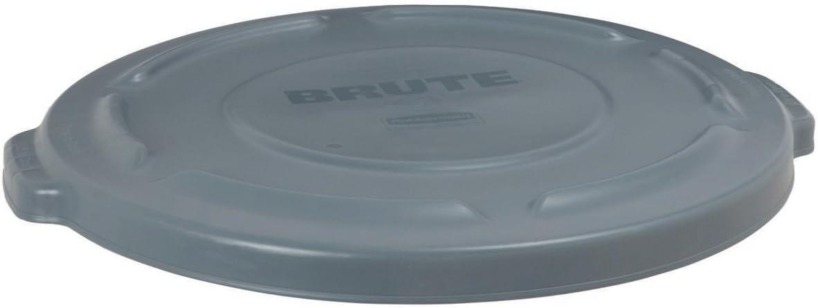 B000Z5CRQU Brute 20 Gal. Gray Round Vented Trash Can Lid Case of 6 FG261960GRAY 51fEDEE2ddL