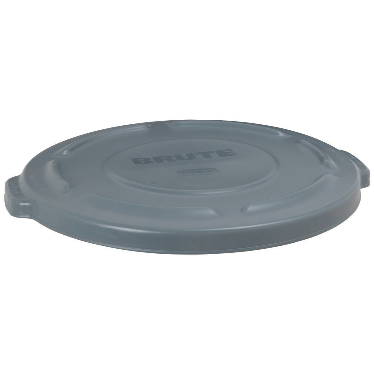 Brute 20 Gal. Gray Round Vented Trash Can Lid Case of 6 FG261960GRAY Rubbermaid