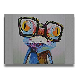 Martoo-store Art Compare Prices 16/20 Inch (A Frameless) Decorative Artwork Abstract Oil Paintings On Canvas Wall Art Ready To Hang For Home Decoration Wall Decor, Paintings For Living Room