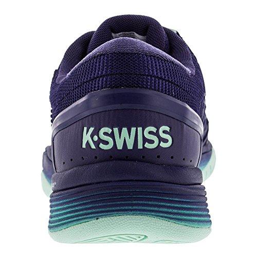 K-swiss Hypercourt 2.0 Blauw Lint / Elektrisch Groen / Beekgroen