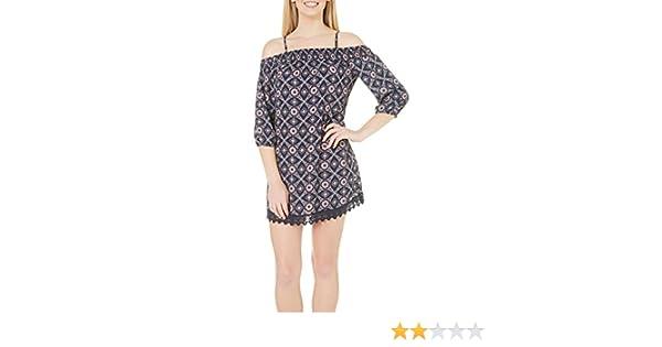 Trixxi Juniors Smocked Off the Shoulder Dress