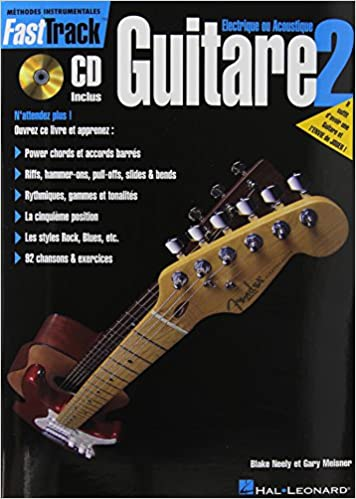 Fasttrack Guitar Method - Book 2 - French Edition: Amazon.es ...
