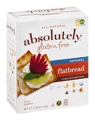 Absolutely Gluten Free Original Flatbread, 5.29 Ounce -- 12 per case.