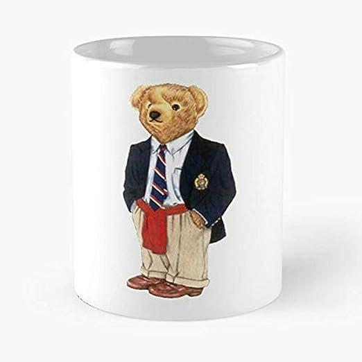 Polo Bear Waterpolo Preppy Smart Teddy Moda Vintage Streetwear De ...