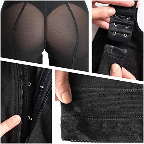 493bc80021913 Salome 0520 Women Post Surgery Full Body Shaper with Zipper Shapewear Fajas  Colombianas Reductoras Moldeadoras Completas