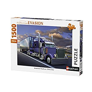 Nathan 87782 Puzzle American Truck 1500 Pezzi