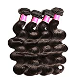 Hair Brazilian Body Wave Remy Hair Bundles Natural Color 8 30 Inches Human Hair Weave 1Pc 3Pcs 4Pcs,30 30 30,Natural Color
