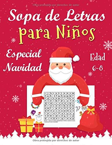 Sopa de Letras para Niños Edad 6-8 Años Especial Navidad  [Books, Superfun] (Tapa Blanda)
