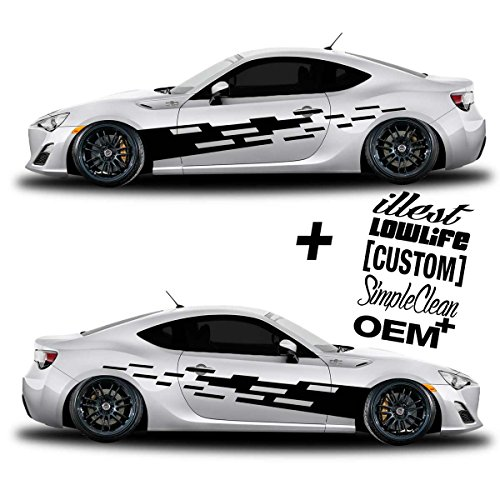 Side Vinyl Decals For Cars Amazoncom - Vinyl decals car