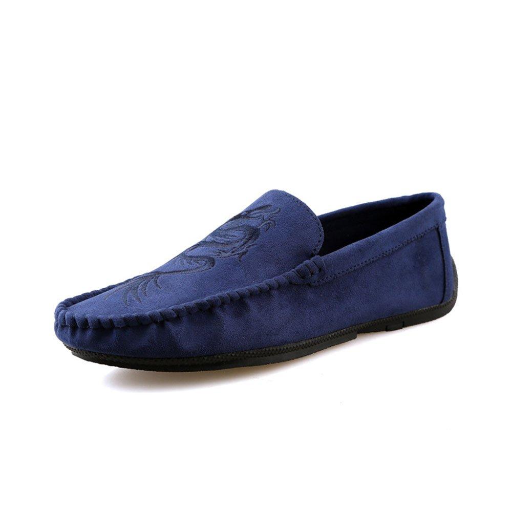 Zapatos Casuales para Hombres de Verano Juegos de Tendencia Juvenil Zapatos para los pies 41 1/3 EU|Azul
