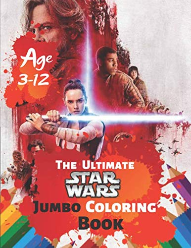The Ultimate Star Wars Coloring Book Age