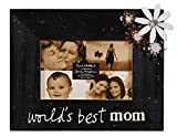 C.R. Gibson Treasured Frame by Sandra Magsamen, Tabletop Frame With Bejeweled Accents, Holds 4'' x 6'' Photo's, Frame Measures 9.75'' x 7.75'' - Mom