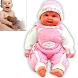 Shoppers Zone Real Looking Laughing Baby Doll- 20 Inches