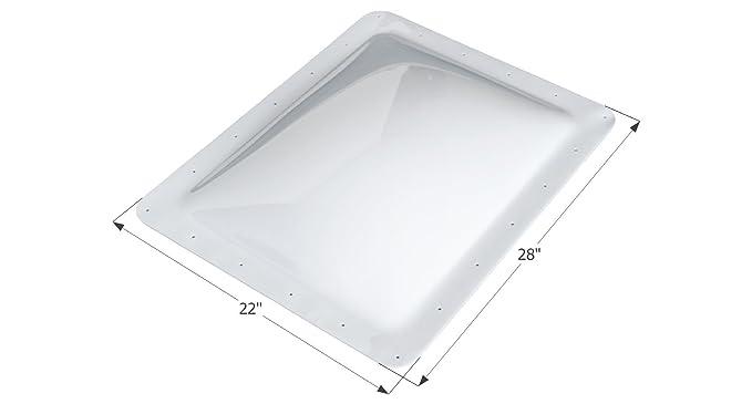 """RV ICON 01852 Skylight SL1824C Clear 22/"""" x 28/"""""""