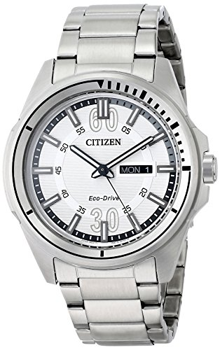 Citizen AW0031 52A Eco Drive Stainless Bracelet