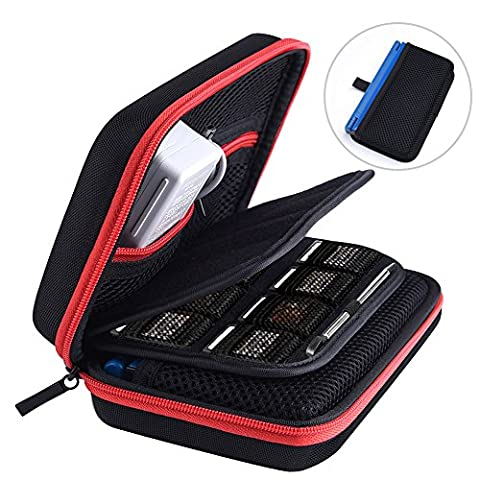 Austor Hard Travel Carrying Case for Nintendo New 3DS XL (3ds Xl Charging Case)