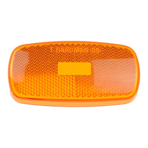Bargman 30-59-012 Clearance Light Lens, Amber