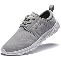 YHOON Men's Lightweight Road Running shoes Mesh Breathable Shoes Outdoor sport shoes