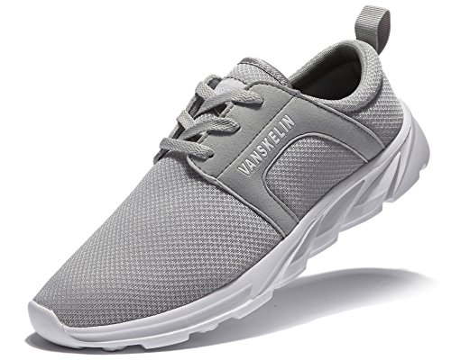 Shoes Outdoor 023m Sneakers Shoes Grey Athletic Running Breathable On Slip Men's Lightweight q6zOwU