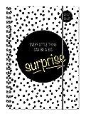 Collegetimer Surprise 2017/2018 - Schülerkalender A5 - Weekly - Ringbindung - 224 Seiten