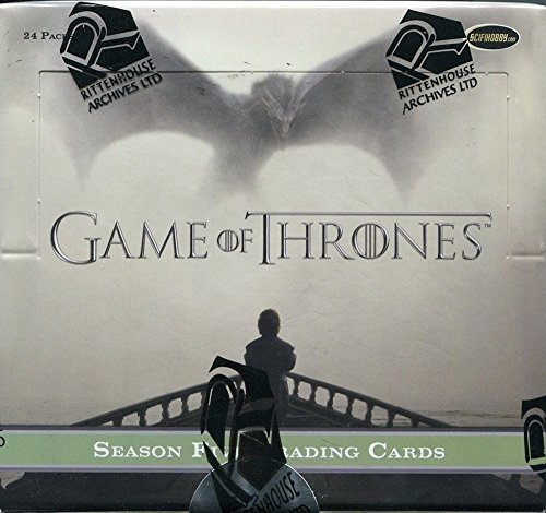 Game of Thrones Season 5 Trading Cards: Booster Box (24 Packs) -