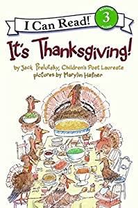 It's Thanksgiving! (I Can Read Level 3)