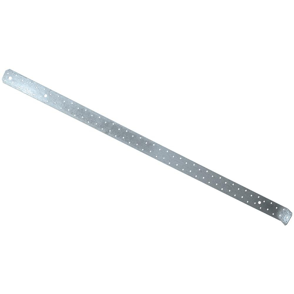 Simpson Strong Tie MSTC48B3 3'' x 44-7/8'' Countersunk Strap Tie Pre Bent