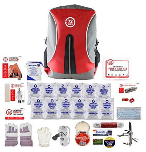 1 Person - 72HRS Backpack Deluxe Kit
