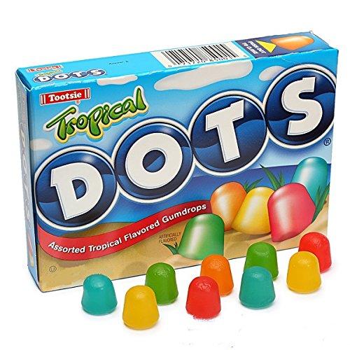 - Tropical Dots Assorted Flavor Gumdrops, 6.5 oz