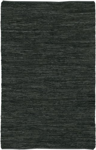 Chandra Rugs Saket Black Rug 9' x 13' (Chandra Rugs Black Leather)