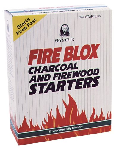 Seymour Fire Blox Firewood and Charcoal Starters by Seymour