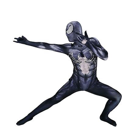 KYOKIM Venom Traje De Spiderman Halloween Cosplay Impresión ...