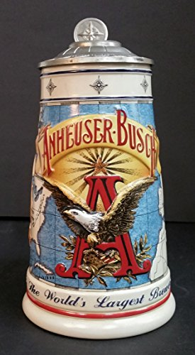 1996 Anheuser-Busch Collector's Club Membership Stein